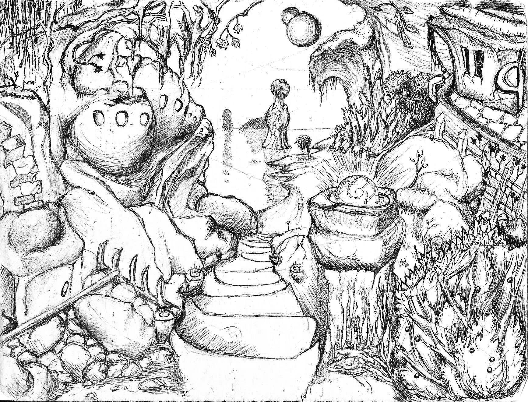 Drawing 'Slinur'